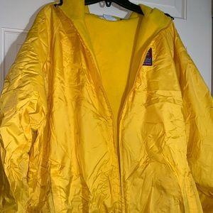 MGM grand yellow windbreaker hoodie XXL